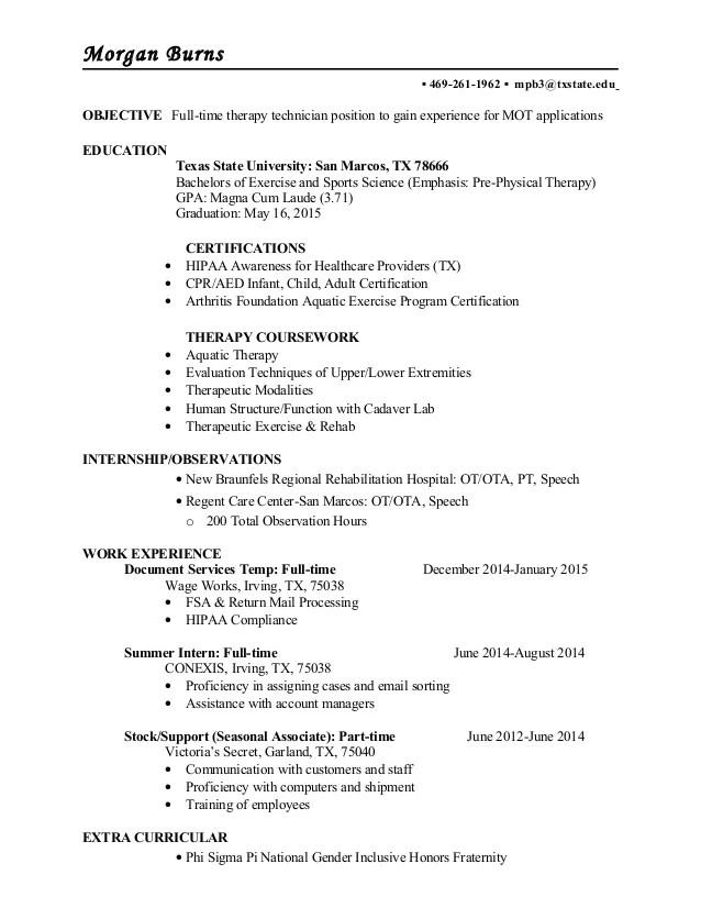 Stem Sizer Resume April 2021