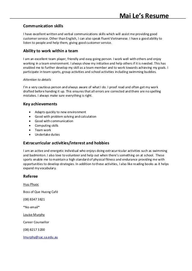 Communication Skills Resume Example Resume Format Download Pdf    Communication Skills Examples For Resume