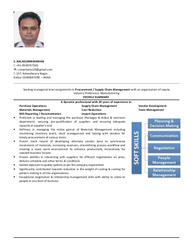 bala sourcing resume