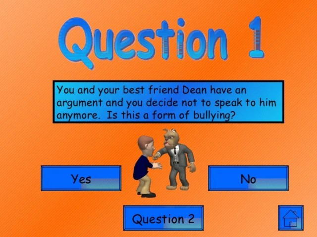 Aaa bullying games quiz 1 Play  5