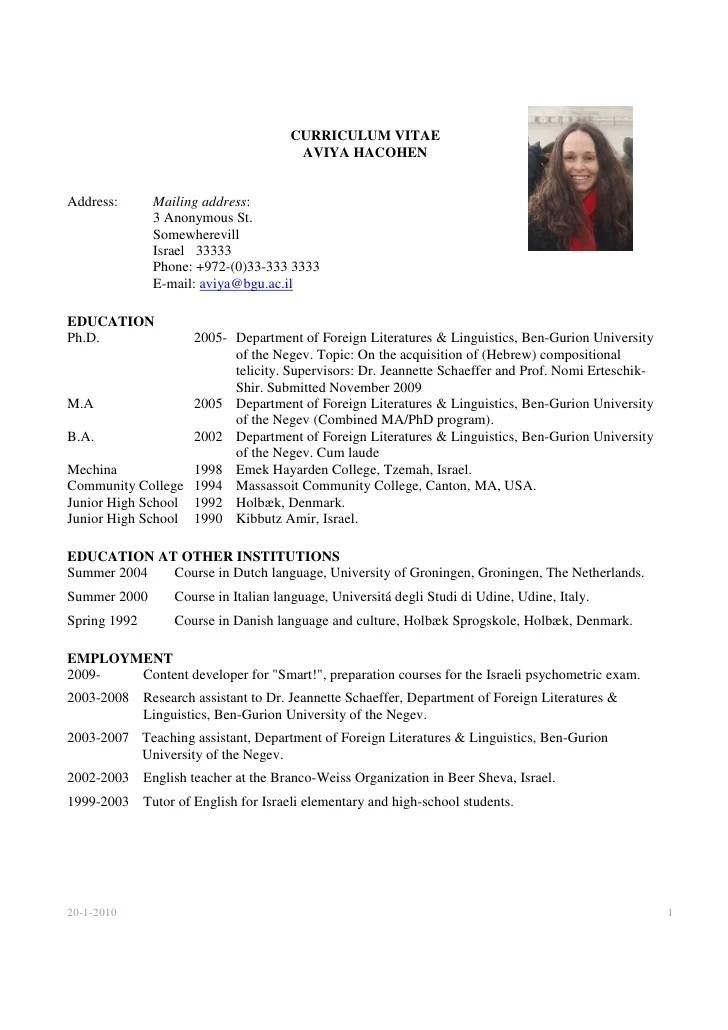 Phd resume mckinsey