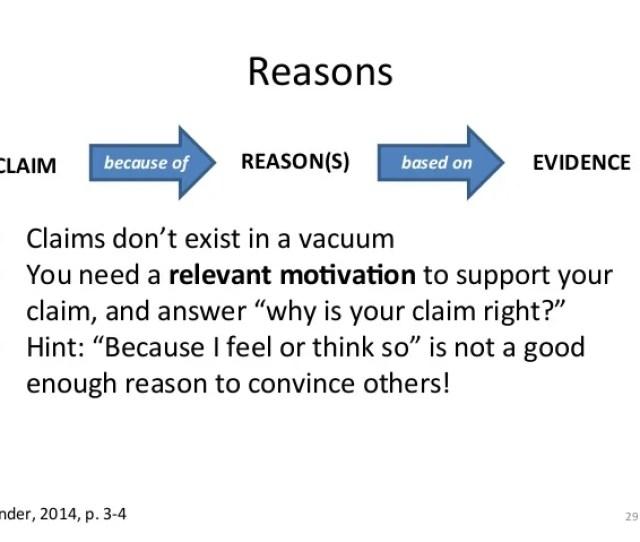 Reasons E Craft Of