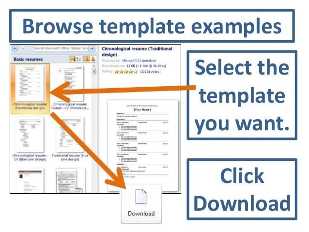 resume templates for microsoft word starter 2010