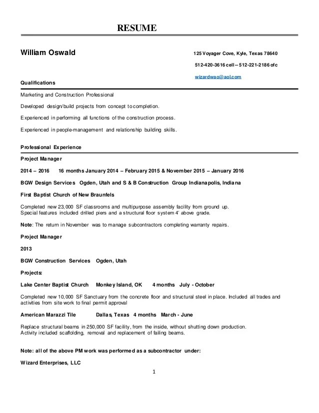 Examples Of Successful Resumes. Write An Effective Resume Is To