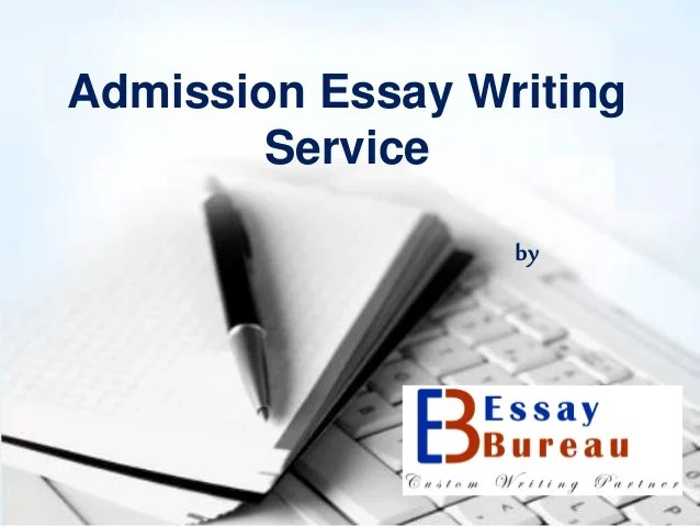 Admission essay editing services