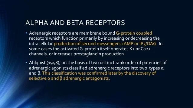 Adrenergic Receptors Beta 1 Beta 2