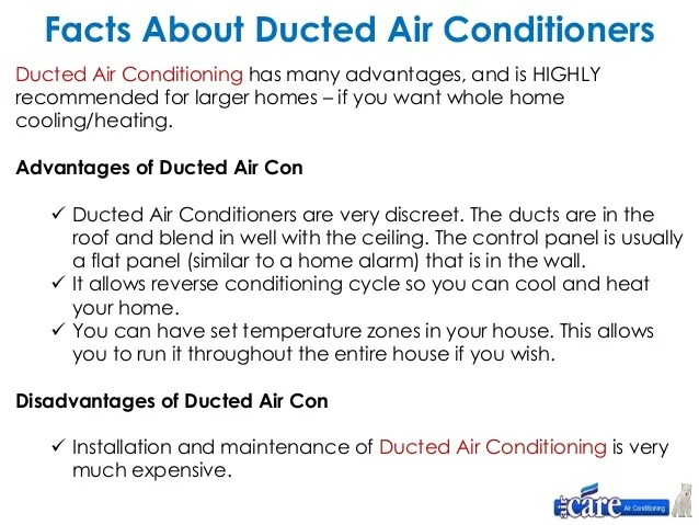 Whole House Air Conditioning Units