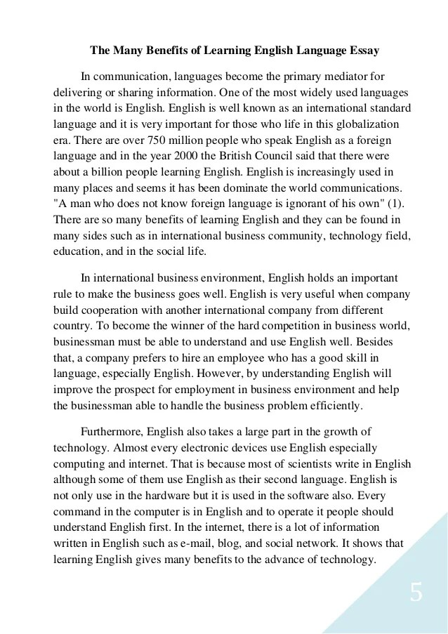 How To Edit Essay English Learning Essay About Language Atsl Sonnet 18 Essay also Any Topic Essay Scholarships Essay About English Language Learners  Docoments Ojazlink Western Expansion Essay