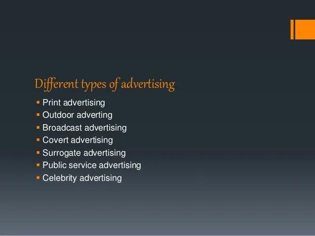 Media Electronic Communication Types