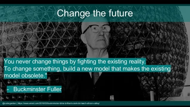 Buckminster Fuller's quote