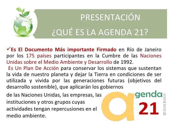 Resultado de imagen de agenda 21 objetivos