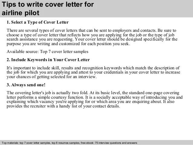 Airline Pilot Recommendation Letter