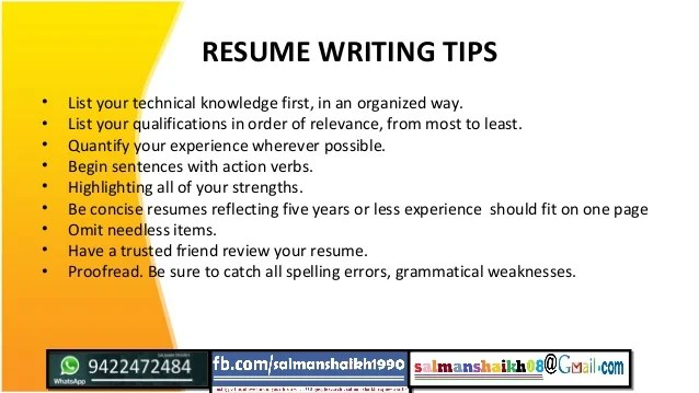 Tips To Build A Resume. Great Resume Build Buildmain Build Help