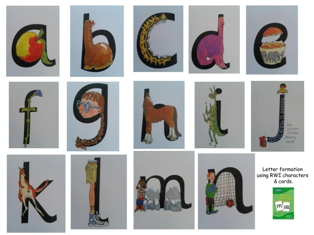 Alphabet Writing With Read Write Inc Recommended By The