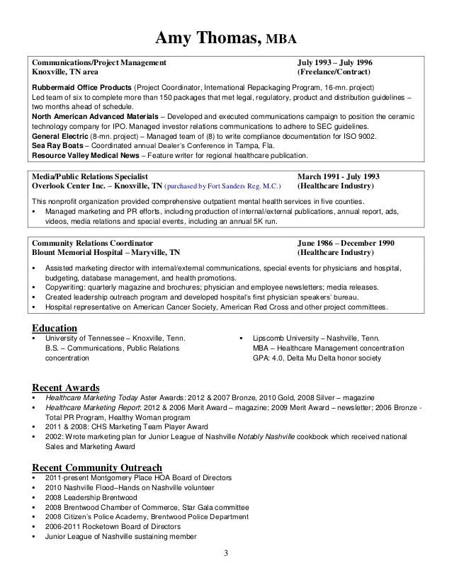 atlanta resume service template