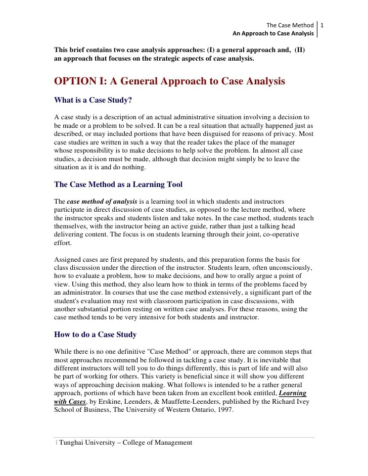 how to read discuss and write persuasively about cases pdf