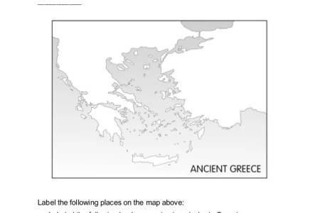 ancient greece map worksheet » Full HD MAPS Locations - Another ...