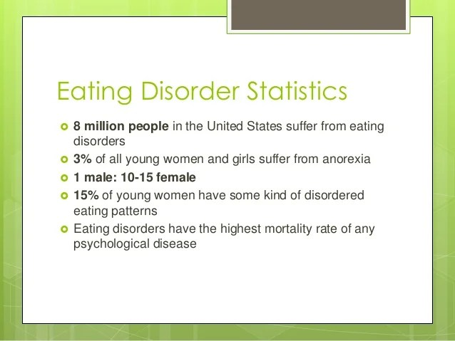 Can Stop How Eating Disorders People