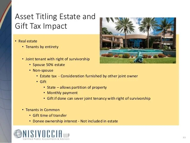 Estate Tax Zero 2017