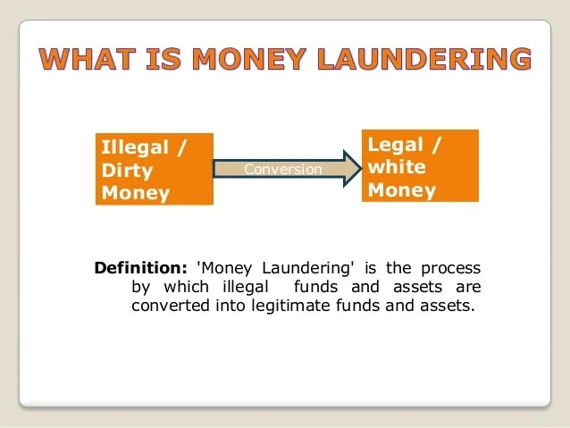 What Are Stages Money Laundering