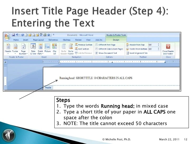 Formatting Apa Style In Microsoft Word 2013  How To Create