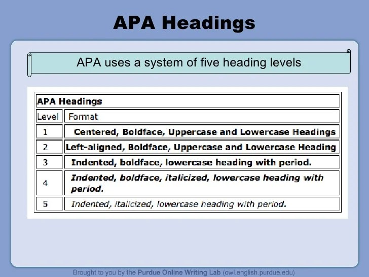 Apa 6th Edition Paper Example