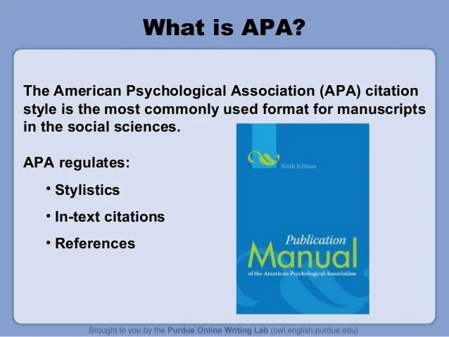 best How To Make A Powerpoint Presentation In Apa Format image