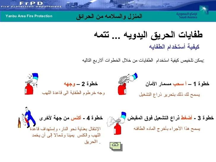 Arabic Fire Safety Presentation