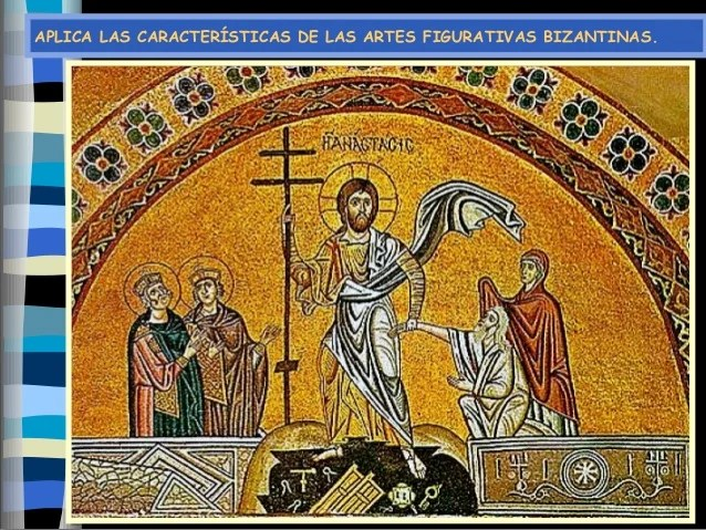 Resultado de imagen para Artes figurativas bizantinas
