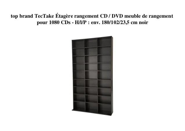 rangement cd dvd meuble