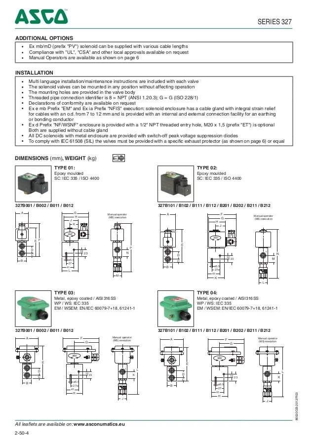 Asco Solenoid Valve Wiring Diagram  Somurich