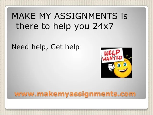 Image result for make my assignments