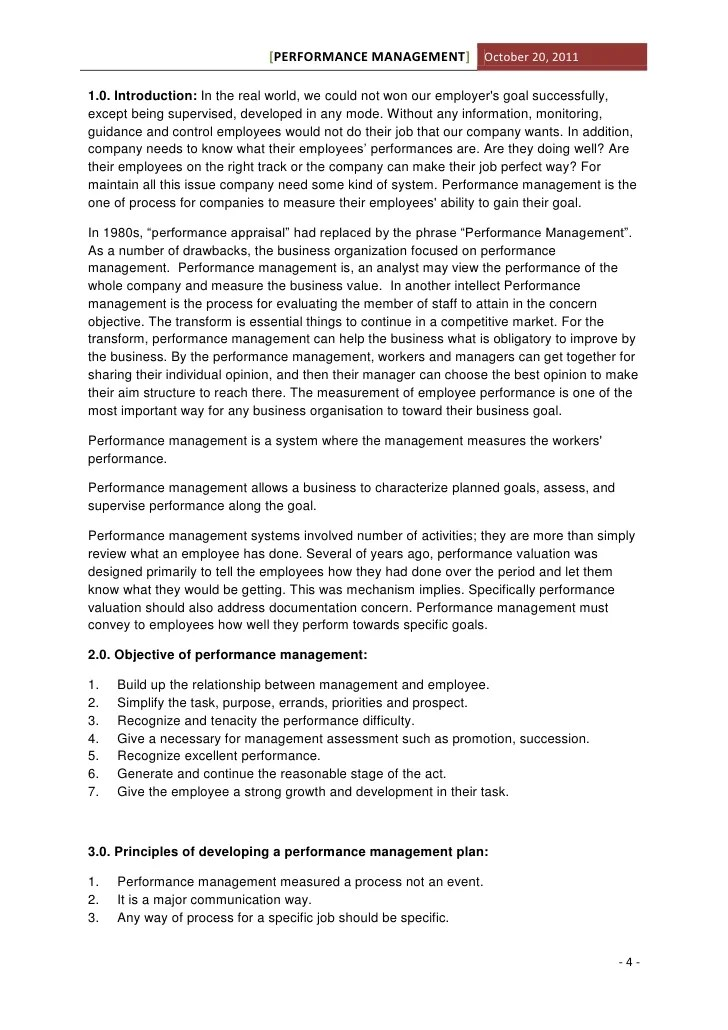 essay on performance management www gxart org