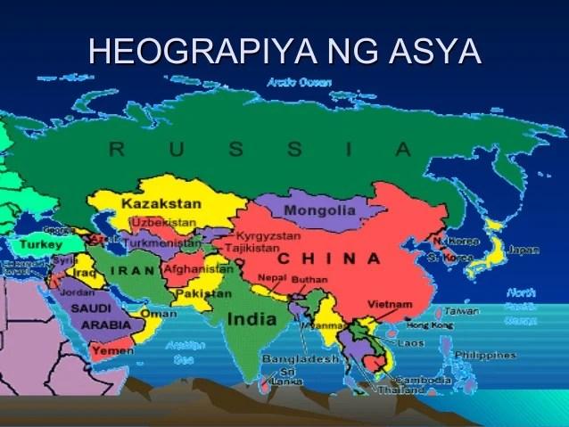 8 Heograpiya Lm Ng Asya