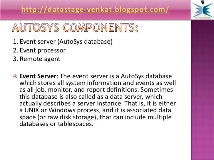 Job Management Unix Autosys Job Jil Command Part1 Youtube