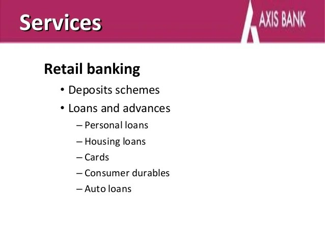 Axis Bank Personal