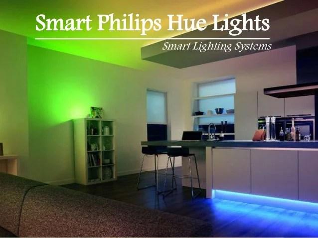 smart philips hue lights