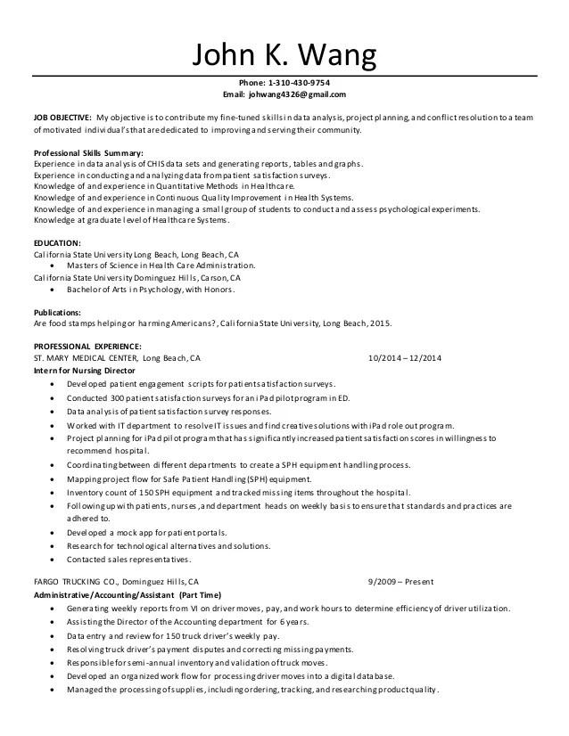 Healthcare Resume Qualifications. Resume Summary Resume