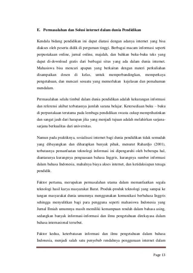 17 Contoh Skripsi Bab 2 Bahasa Inggris