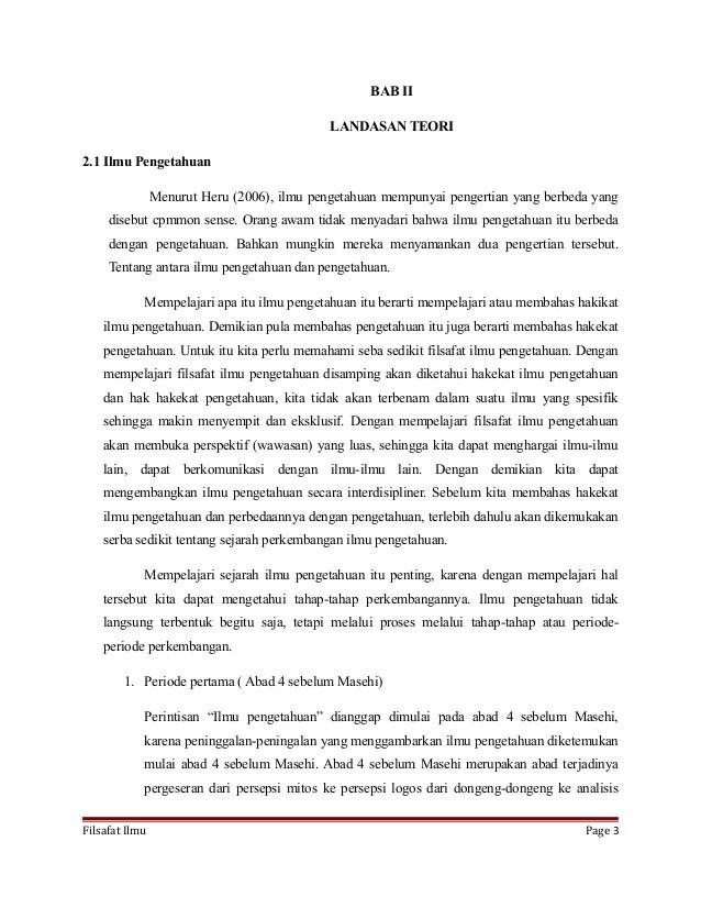 Contoh Landasan Teori Makalah Skripsi Penelitian Jurnal Karya Ilmiah