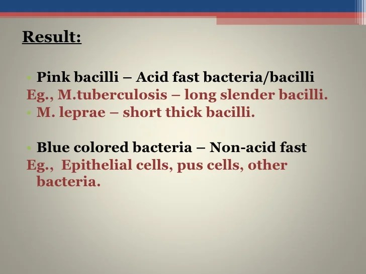 Acid Are Cells Fast Negative