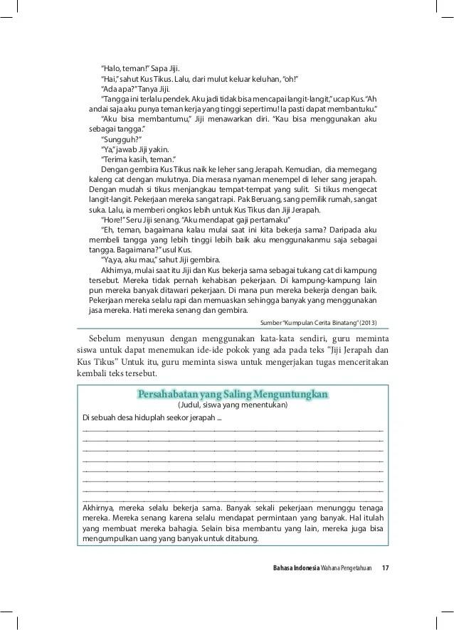Contoh Paragraf Eksposisi Pola Sebab Akibat Dalam Bahasa Jawa