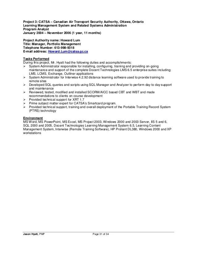 Resume site gc ca