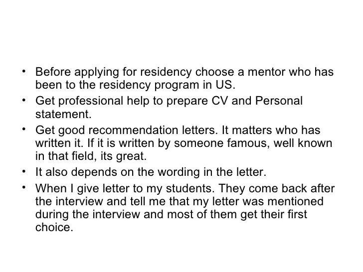 Medical Residency Resume. sample resume for medical residency ...
