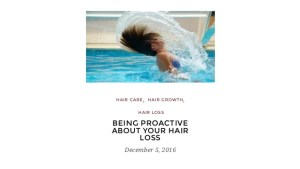 Being Proactive About Your Hair Loss Tips For Hair Loss