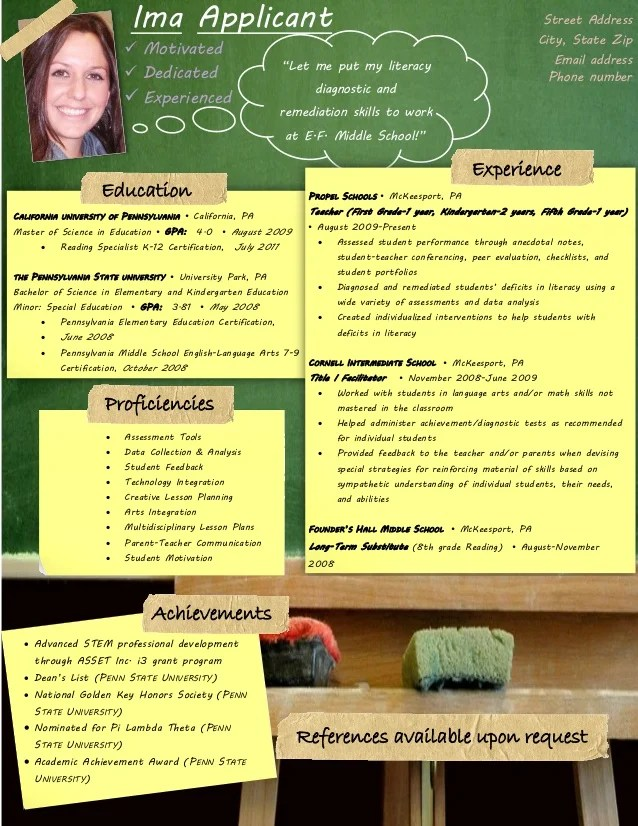 Example Of Teacher Resume     Resume Examples example of teacher resume special education teaching resume example