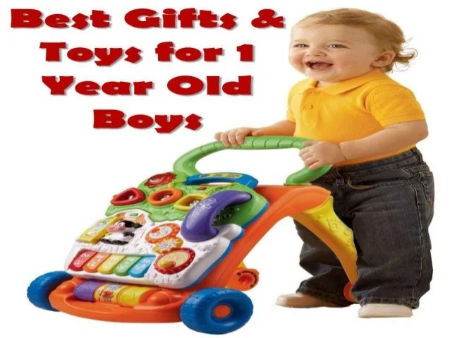 Best Gifts & Toys For 1 Year Old Boys