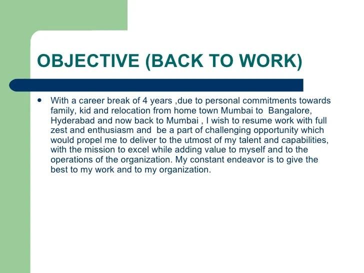 Career Break Resume Samples  resume samples uva career center  how