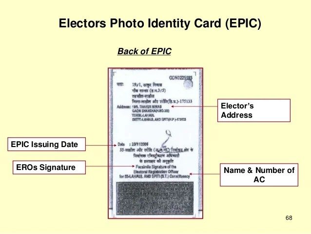 Find Voter Registration Number
