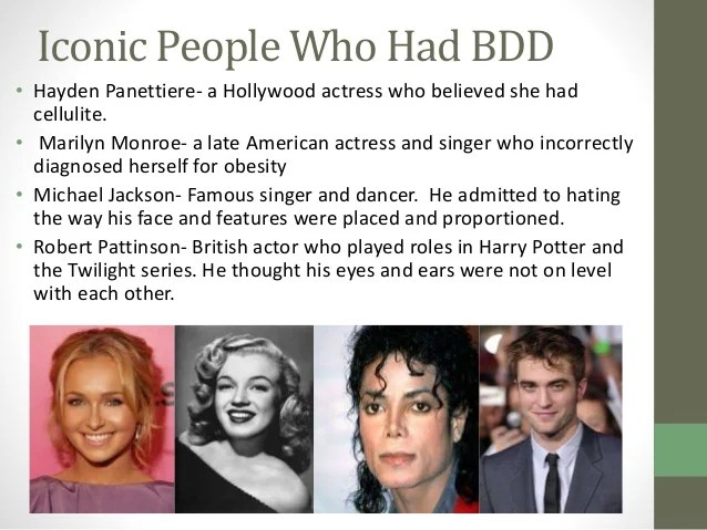 Celebrities Famous People With Disorders